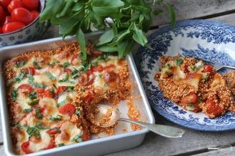 Italialainen kvinoalaatikko