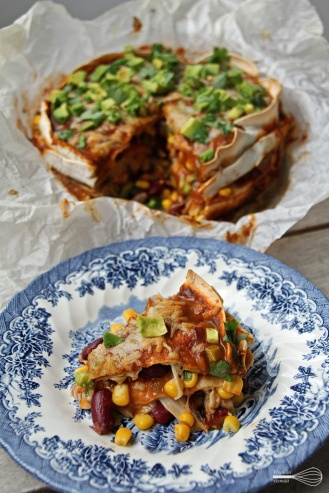 Tortilla-lasagne