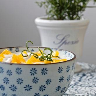 Appelsiini-rosmariinirahka
